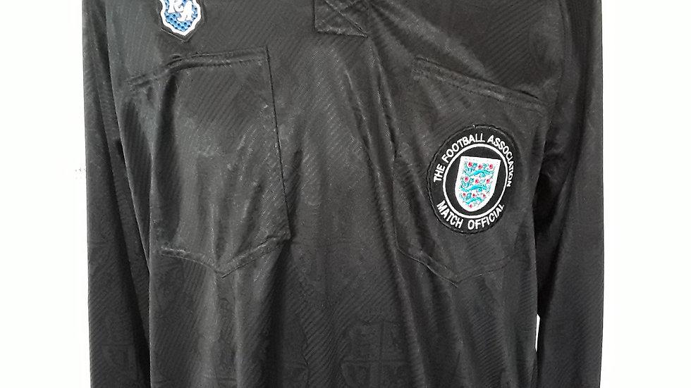 Official league match worn referees shirt. L