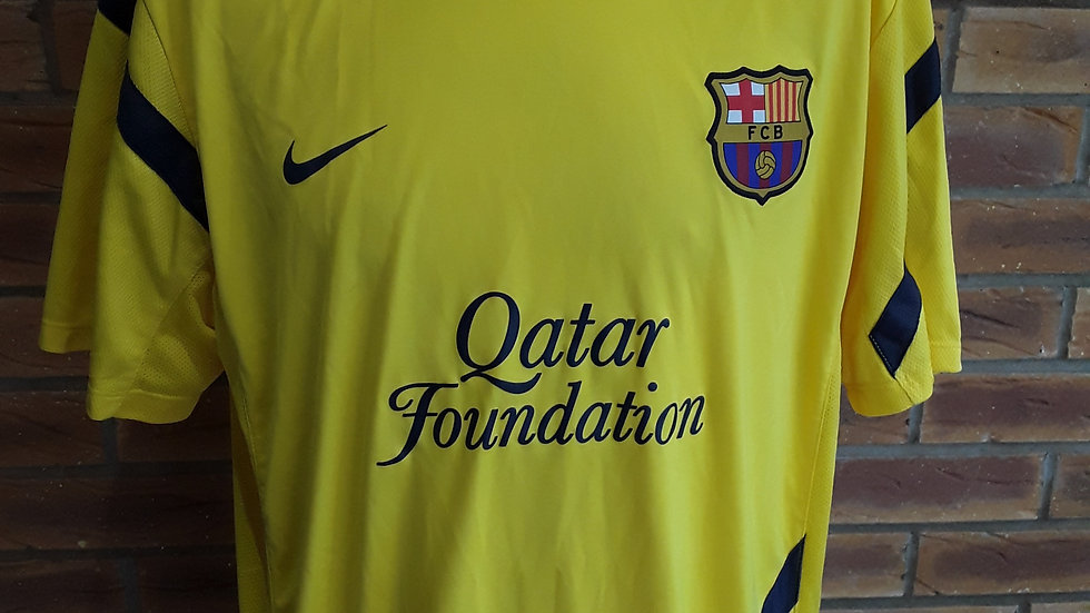 Barcelona FC Training Shirt Genuine