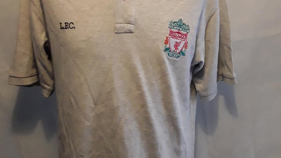 Vintage Liverpool Polo Shirt Small Mens