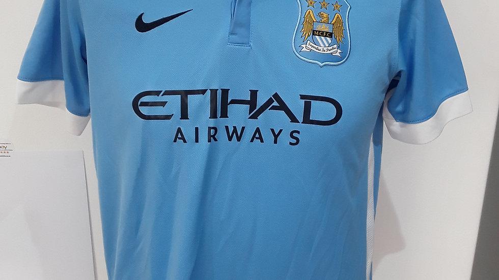 Manchester City Home Shirt 2015.
