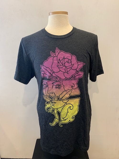 "Men's T-Shirt ""Rose Woman"""
