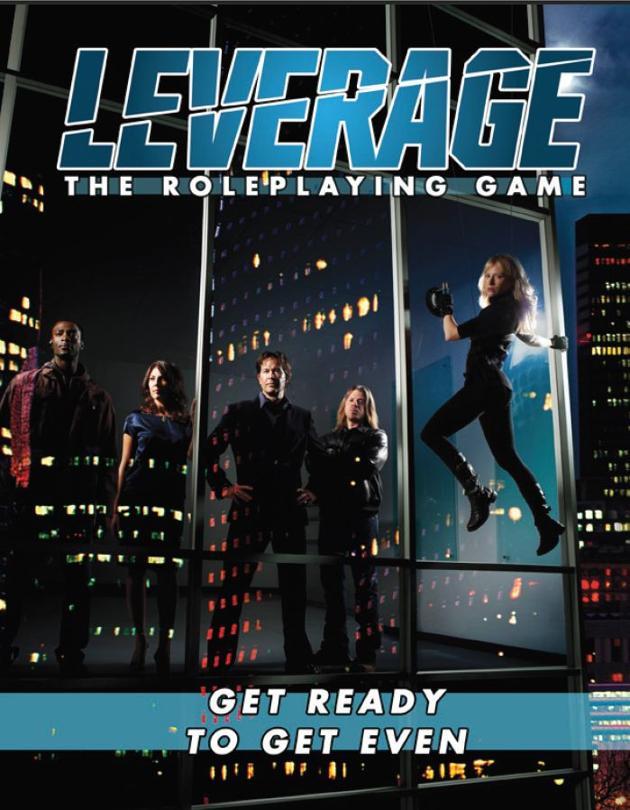 Rollenspel review - Leverage - The Roleplaying Game - Cover.jpg