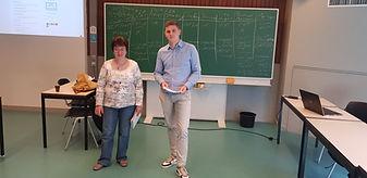 Cursus Leuven_Wouter en Edith presentere