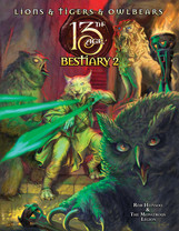 Rollenspelsupplementbespreking - 13th Age: Bestiary 2