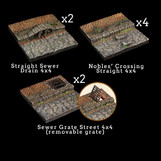 Rollenspelaccessoirebespreking—Dwarven Forge: Wicked Streets Add-On Pack