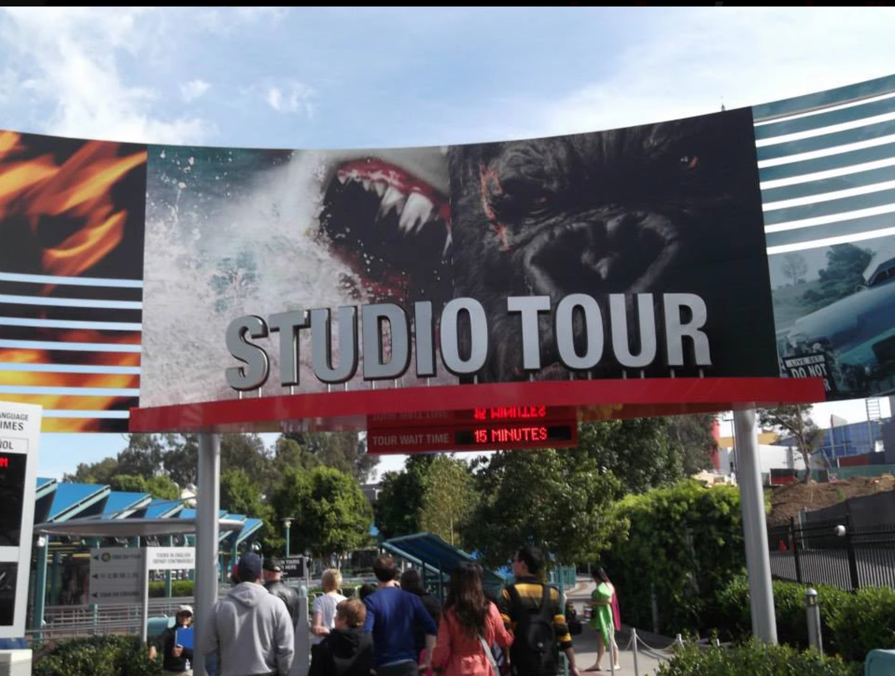 Workshop L.A._Universal Studio Tour