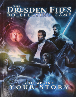 Rollenspelbespreking: The Dresden Files Roleplaying Game