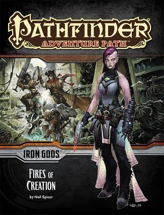 Rollenspelbespreking: Pathfinder Adventure Path - Iron Gods