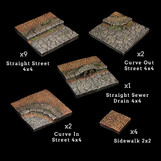 Rollenspelaccessoirebespreking: Dwarven Forge - Street Starter Set