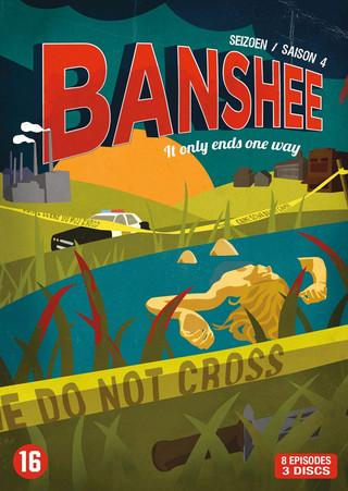 Persbericht: vierde seizoen Banshee vanaf oktober op dvd