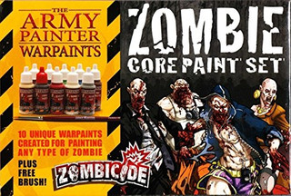 Recensie game-accessoire - The Army Painter Warpaints: Zombicide - Zombie Core Paint Set