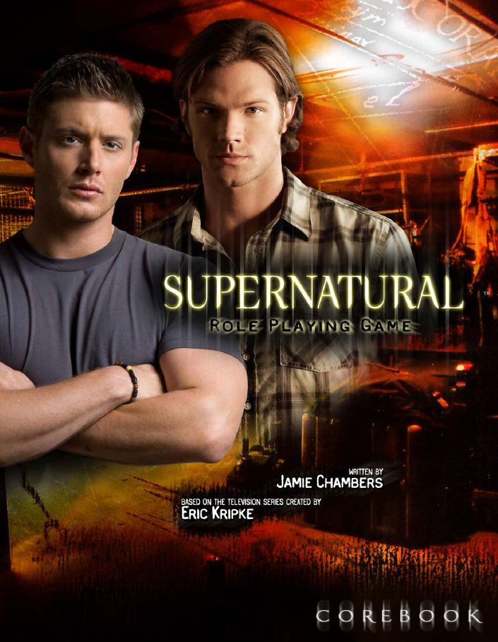 RPG review - Supernatural - Roleplaying Game - Cover.jpg
