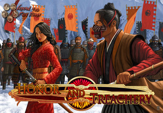 Cardgamebespreking: Legend of the Five Rings: Honor and Treachery