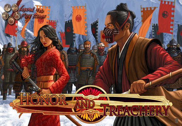 Cardgame review - Legend of the Five Rings - Honor and Treachery cover.jpg