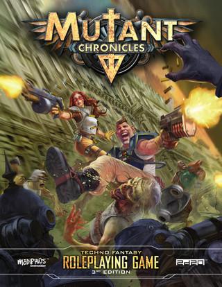 Rollenspelbespreking: Mutant Chronicles