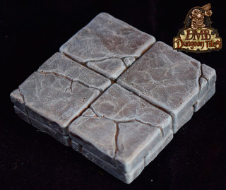 Recensie: DMB Dungeon Tile Floor Set: Gothic Grey