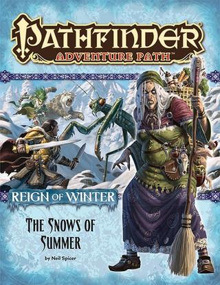 Rollenspelbespreking: Pathfinder Adventure Path - Reign of Winter