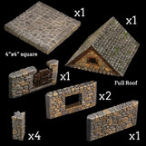 Rollenspelaccessoirebespreking: Dwarven Forge - Stone Cottage