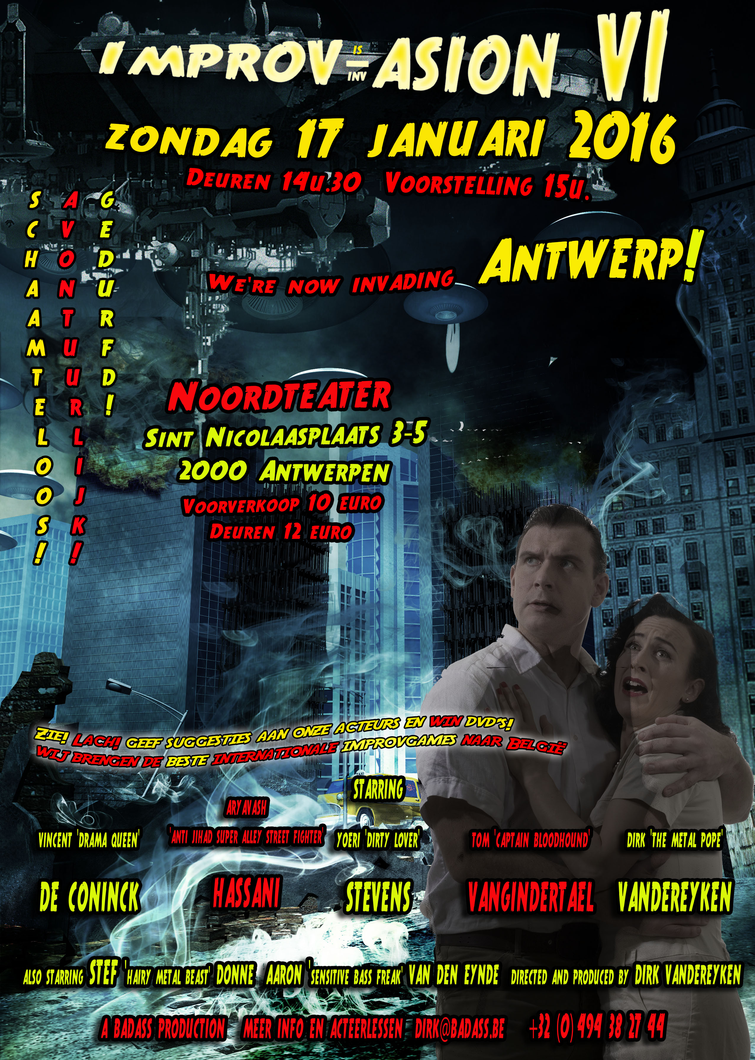 Improv-Asion VI - Poster