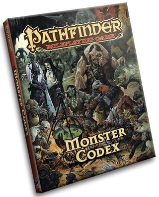 Rollenspelbespreking: Pathfinder Roleplaying Game - Monster Codex