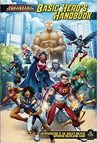 Rollenspelsupplementbespreking - Mutants & Masterminds: Basic Hero Handbook