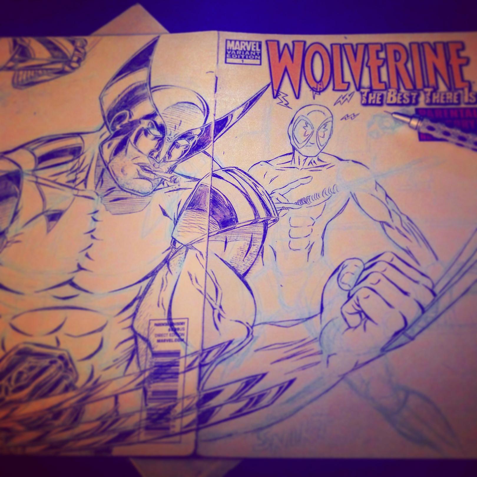 Wolverine Sketch Cover (sketch)