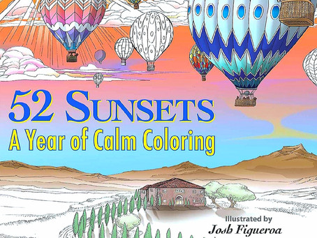 Preorder my coloring book for Christmas!