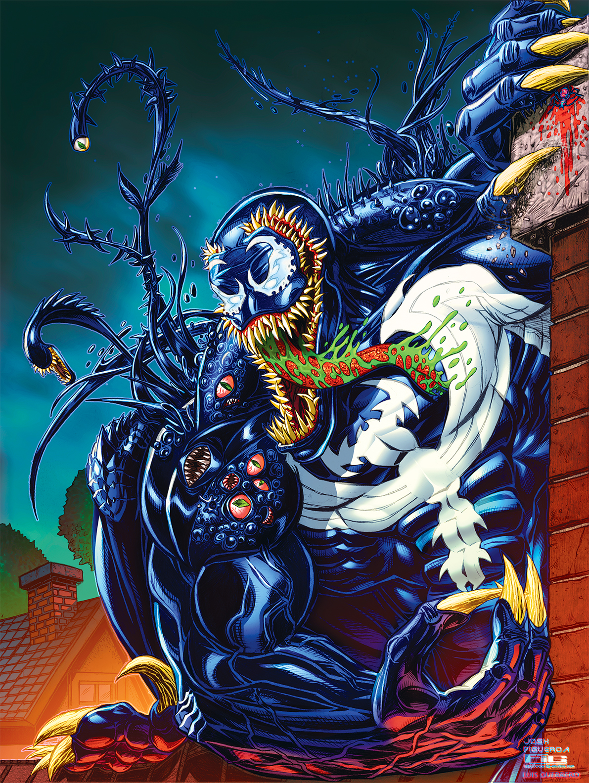 Venom commission (color)