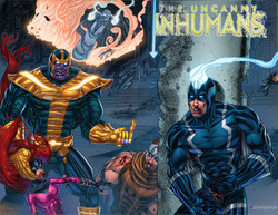 Inhumans Sketch Cover (color)