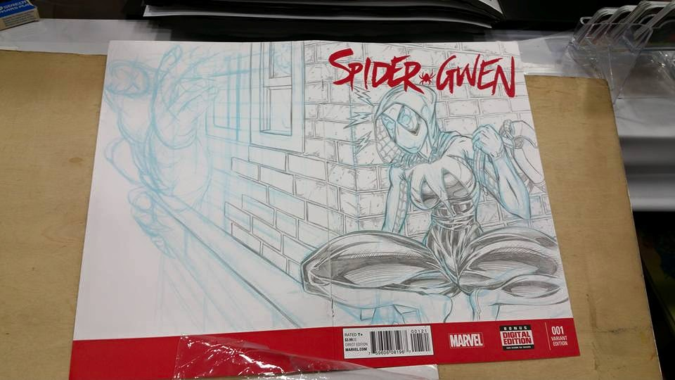 SpiderGwen SC (sketch)