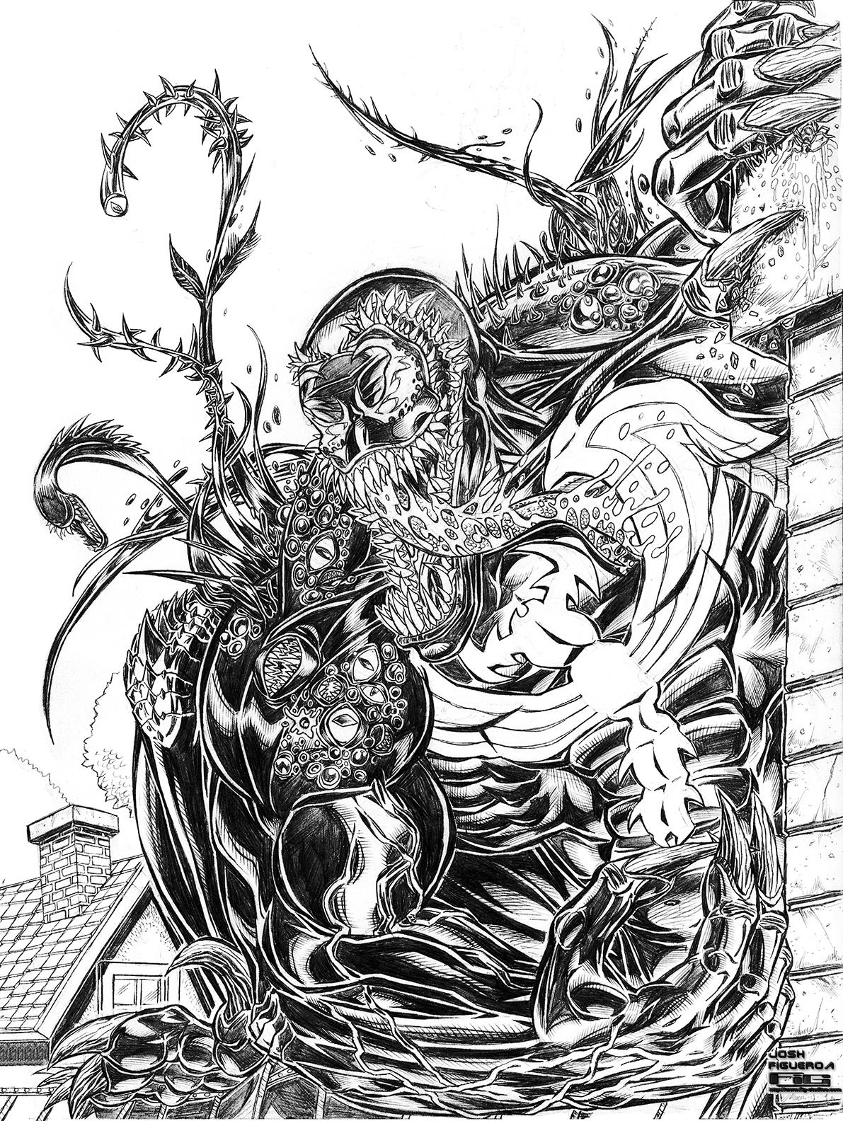 Venom Commission (pencil)