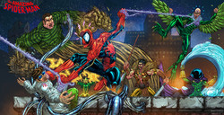 Spiderman Vs Sinister Six color