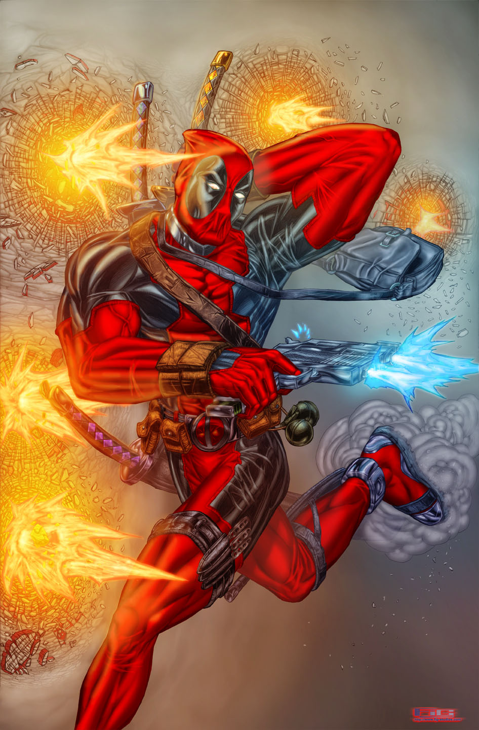 Deadpool (fan art)