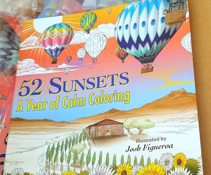 52 Sunsets is out!