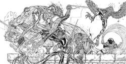 Spiderman Vs Sinister Six
