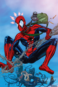 Spiderman vs Venom (fan art)