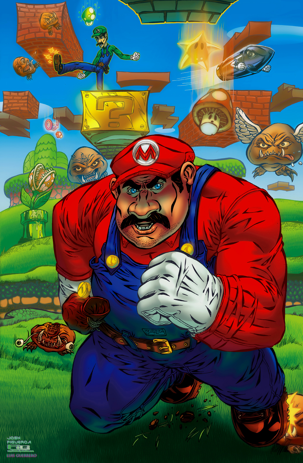 Super Mario Bros (fan art)
