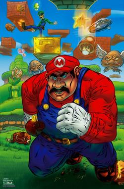 Super Mario Bros (fan art)