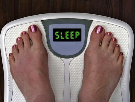 You Snooze, You Lose...  (weight, that is)