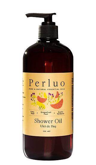 Shower Oil - Lime, Grapefruit & Verbena