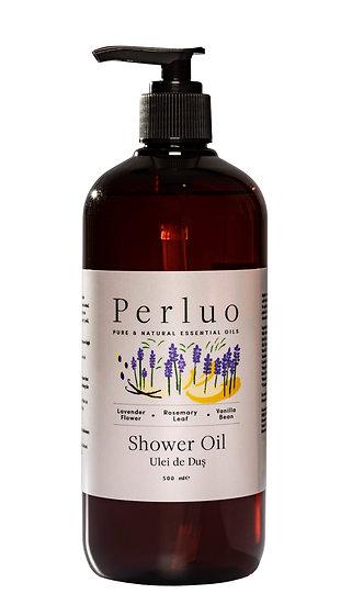 Shower Oil - Lavender, Rosemary & Vanilla