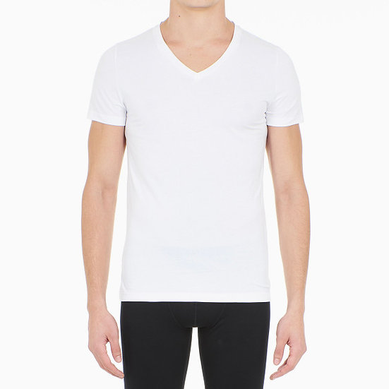 T-SHIRT COL V SUPREME COTTON - HOM