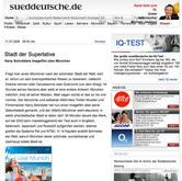 Sueddeutsche Zeitung, Germany