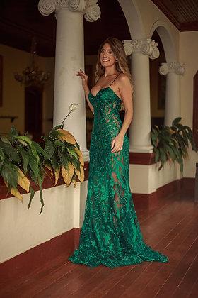 Verde Esmeralda Rendado
