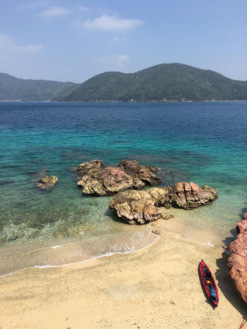 加計呂麻島デリキョンマ崎