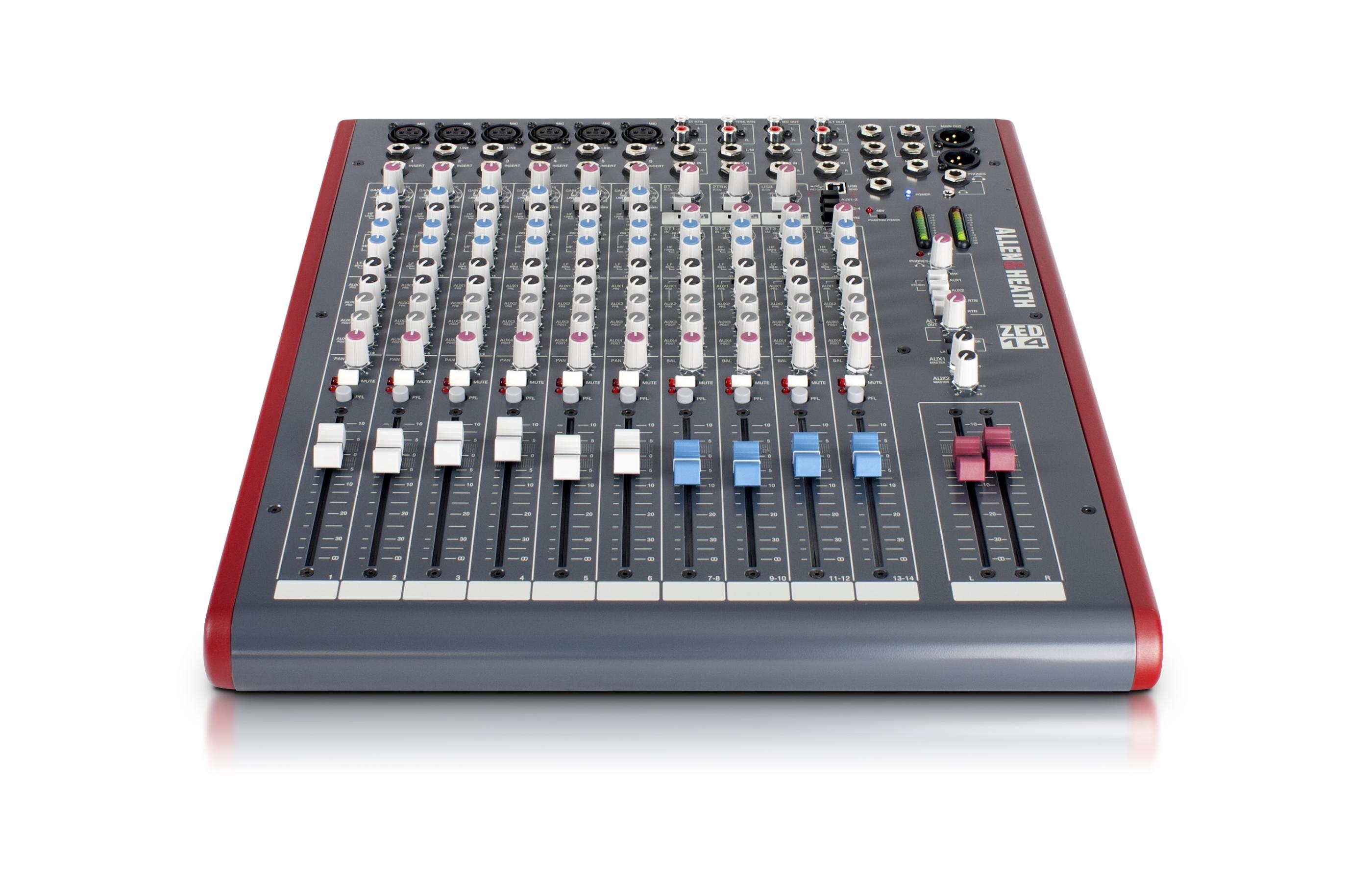allen&heath console de mixage
