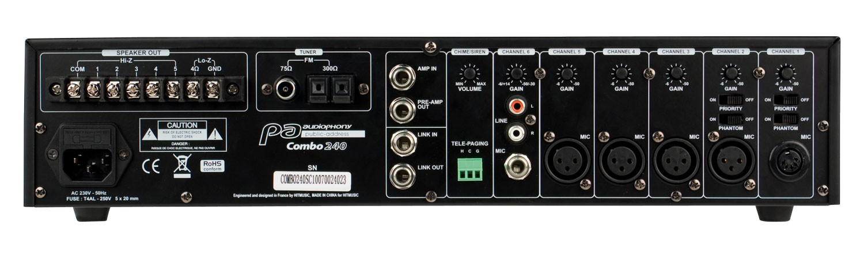 audiophony amplificateur en location
