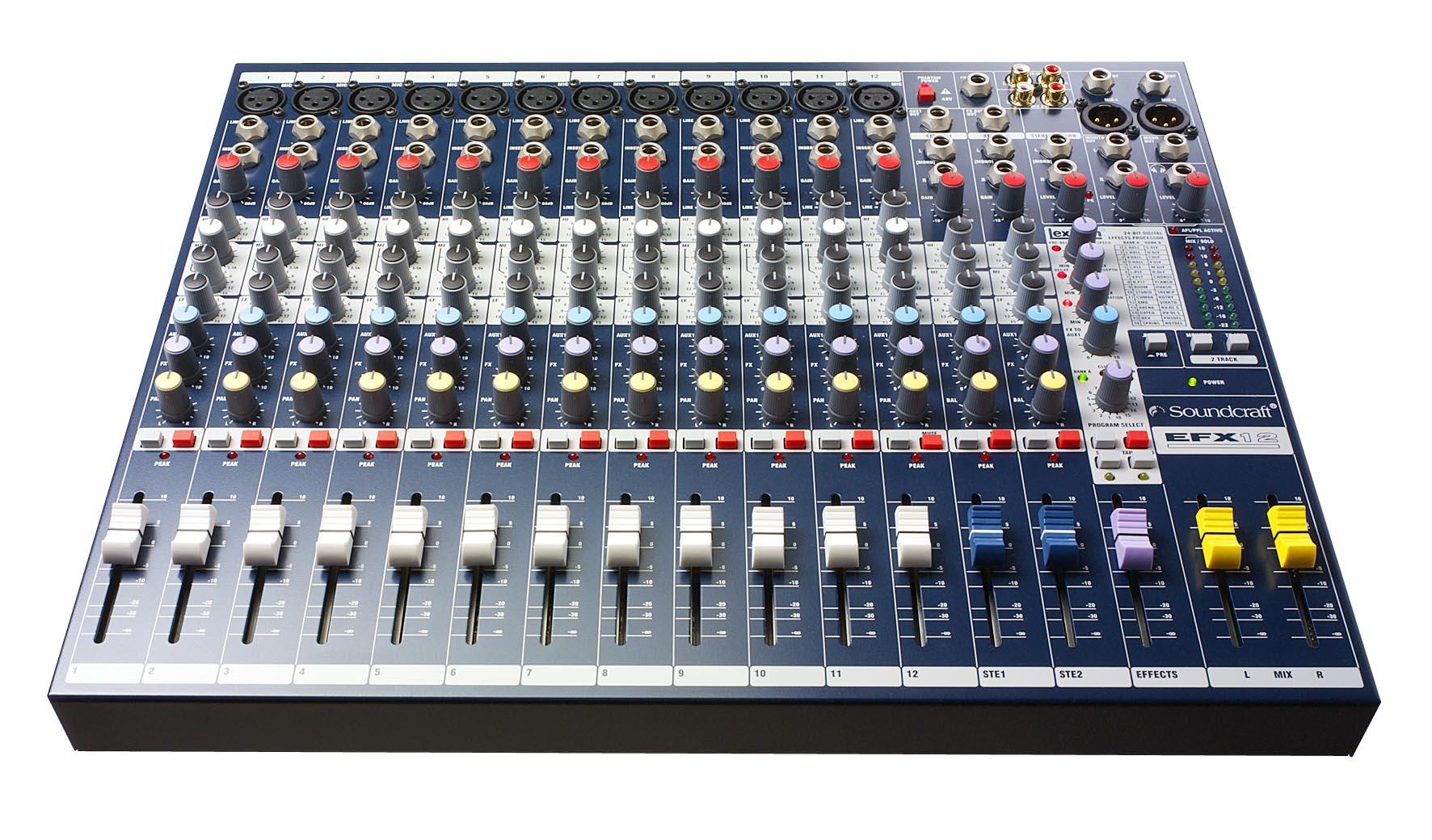 soundcraft console de mixage à louer