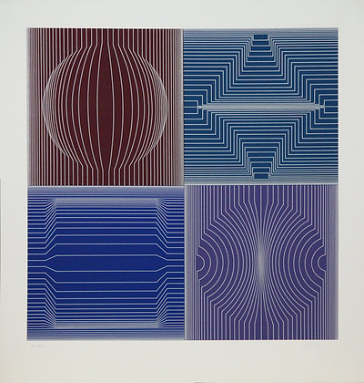 Tokio (Silver) 1981: VV4 (Print)