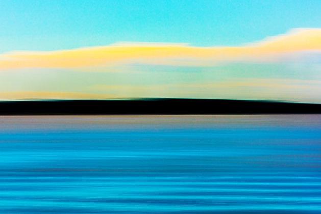 Water, Land, & Sky (Frameless Frame)